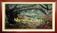 Pictures hand embroidery 'Garden of Eden (1127)'