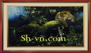 Chinese silk embroidery art 'Feng shui embroidery (2081)'