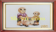 Hand emberoidered baby clothes 'Baby gift ideas (2332)'