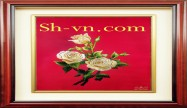 Silk embroidered pictures 'SH pattern silk pitures (1045)'