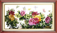 Silk embroidered pictures 'SH pattern silk pitures (1050)'