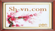 Cherry blossom hand embroidery 'Pattern (2388)'