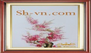 Cherry blossom hand embroidery 'Pattern (2390)'