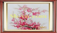 Cherry blossom hand embroidery 'Pattern (2392)'