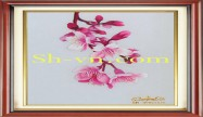 Cherry blossom hand embroidery 'Pattern (2394)'