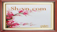Cherry blossom hand embroidery 'Pattern (2395)'