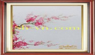 Cherry blossom hand embroidery 'Pattern (2396)'