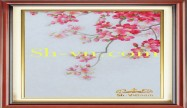 Cherry blossom hand embroidery 'Pattern (2397)'