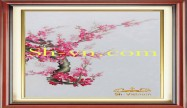Cherry blossom hand embroidery 'Pattern (2398)'