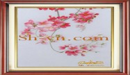 Cherry blossom hand embroidery 'Pattern (2399)'