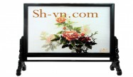 Double sided silk embroidery 'Stitches (2248)'