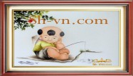 Embroidered baby gifts 'Personalized gift ideas kids (2289)'