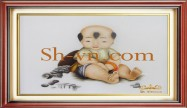 Embroidered baby gifts 'Personalized gift ideas kids (2292)'