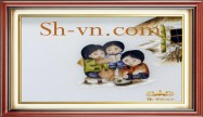 Embroidered baby gifts 'Personalized gift ideas kids (2297)'