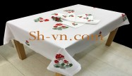 Hand emberoidered tablecloths 'Table-cloth pattern (444)'