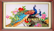 Hand embroidered birds 'Hand embroidery Patterns (1188)'
