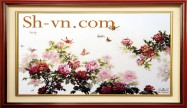 Peony embroidery 'Peony embroidery pattern (1095)'