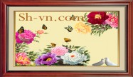 Peony embroidery 'Peony embroidery pattern (1179)'