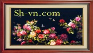Peony embroidery  'Peony embroidery pattern (1094)'