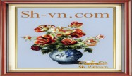 Rose hand embroidery 'Rose embroidery pattern (2265)'