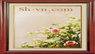 Rose hand embroidery 'Rose embroidery pattern (2075)'