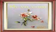 Rose hand embroidery 'Rose embroidery pattern 2280)'