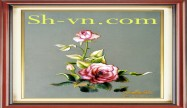 Rose hand embroidery 'Rose embroidery pattern (2281)'