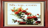 Rose hand embroidery 'Rose embroidery pattern (1086)'
