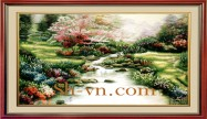 Silk embroidery art for sale 'Silk embroidery kits (1125)'