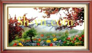 Silk embroidery art for sale 'Silk embroidery kits 1128)'