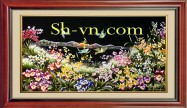 Silk embroidery art for sale 'Silk embroidery kits (1134)'