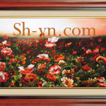 Hand-embroidery-Poppies (40)= - SHVN 1040-95cm x 155cm (2)