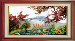 Hand-embroidery-Spring (28)= -SHVN 1128-130cm x 210cm (3)